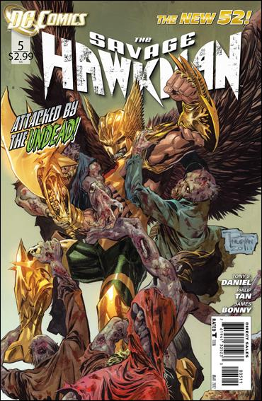 Savage Hawkman 5-A by DC