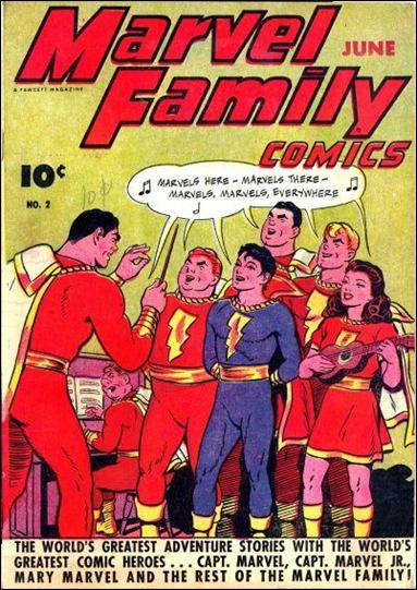 Marvel Family 2-A by Fawcett