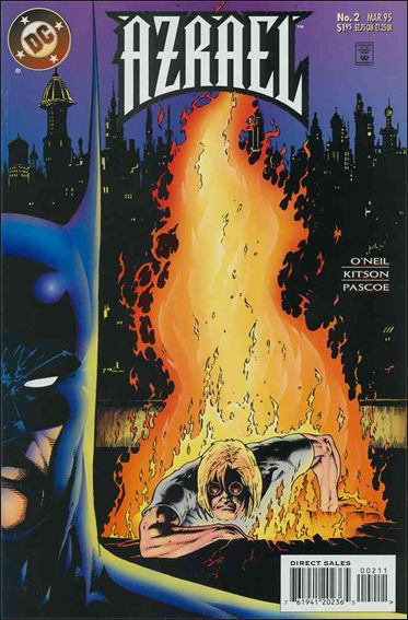 Azrael (1995) 2-A by DC