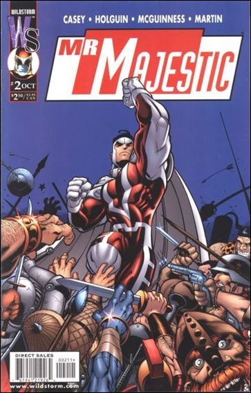 Mr. Majestic 2-A by WildStorm