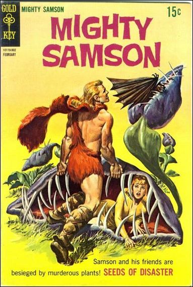 Mighty Samson (1964) 17-A by Gold Key
