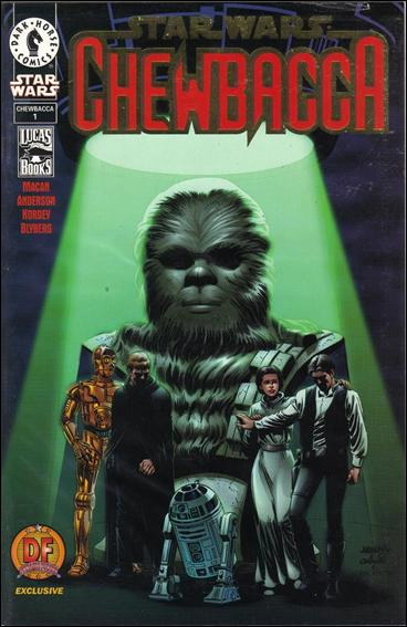 Star Wars: Chewbacca 1-B by Dark Horse