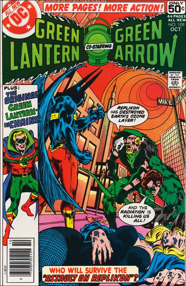 Green Lantern (1960) 109-A by DC