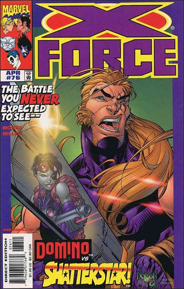 X-Force (1991) 76-A by Marvel