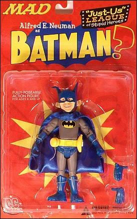 Just-Us League of Stupid Heroes Alred E. Neuman as Batman by DC Direct