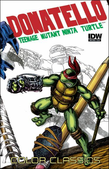 Teenage Mutant Ninja Turtles Color Classics: Donatello Micro-Series One-Shot  One-Shot-A by IDW