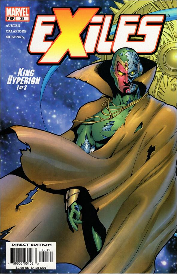 Exiles (2001) 38-A by Marvel