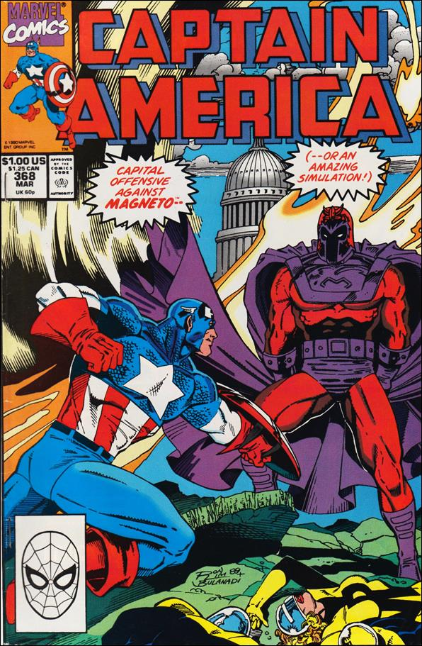 Captain America (1968) 368-A by Marvel