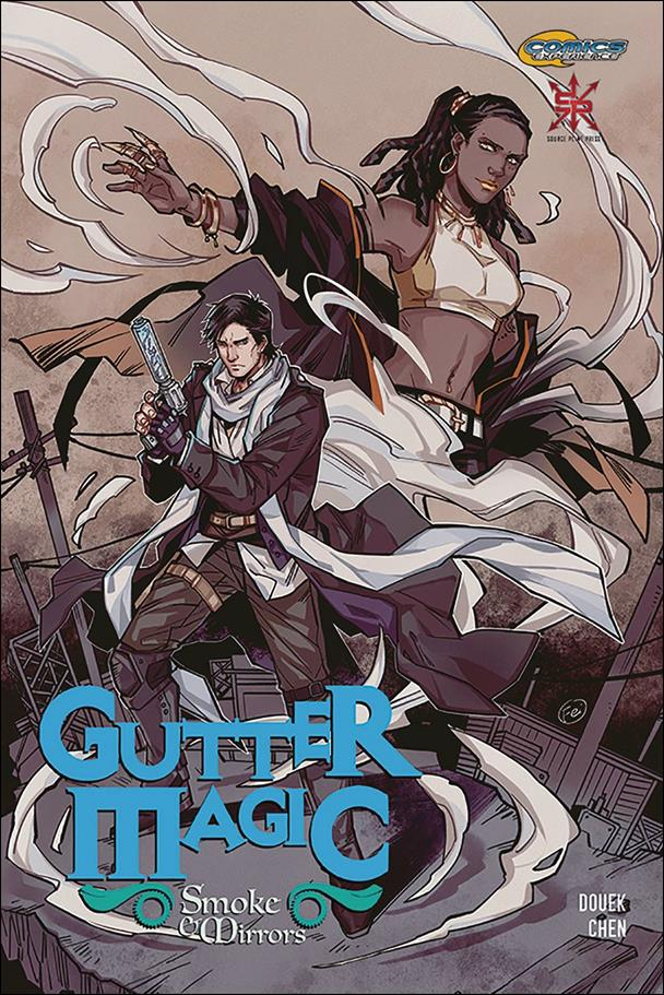 Gutter Magic: Smoke & Mirrors 1-A by Comics Experience