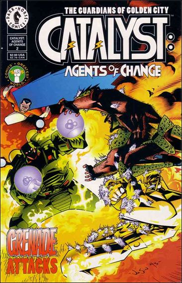 Catalyst: Agents of Change 2-A by Dark Horse