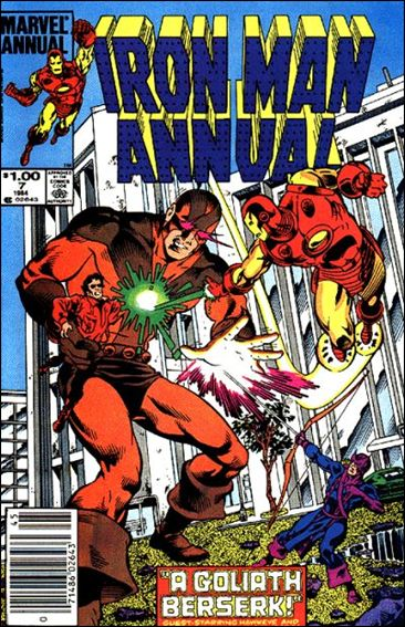 Iron Man Annual (1970) 7-A by Marvel