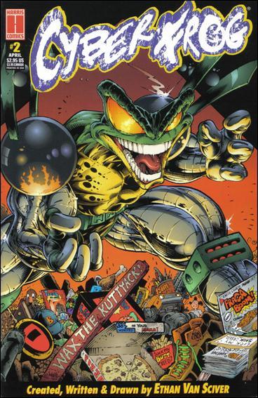 CyberFrog (1996) 2-A by Harris