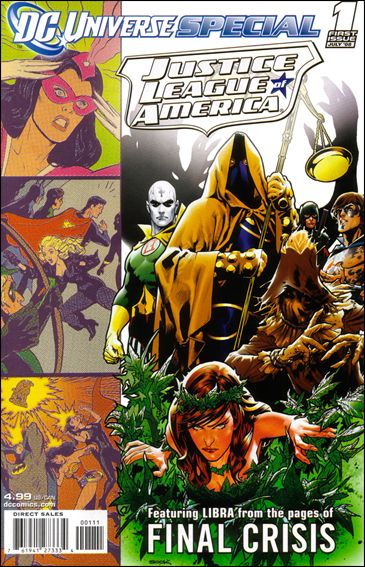 DC Universe Special: Justice League of America 1-A by DC