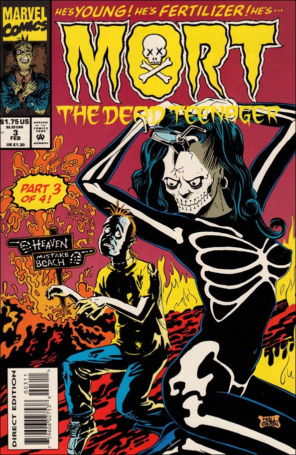 Mort the Dead Teenager 3-A by Marvel