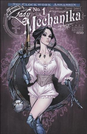 Lady Mechanika: The Clockwork Assassin 1-F