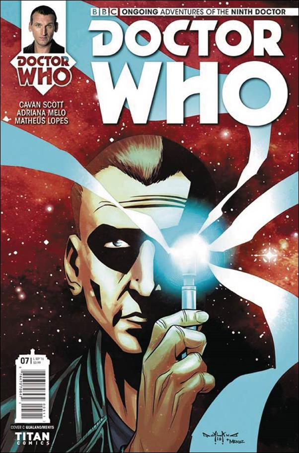 Doctor Who: The Ninth Doctor (2016) 7-C by Titan