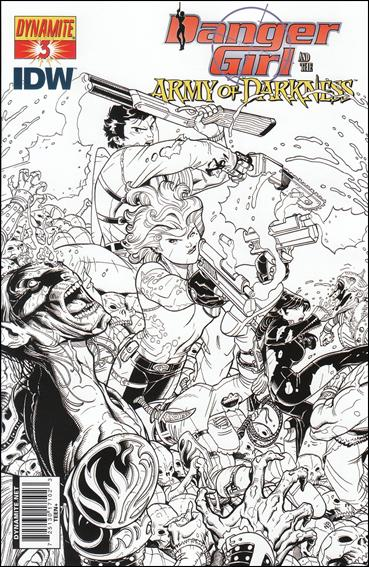 Danger Girl and the Army of Darkness 3-C by Dynamite Entertainment