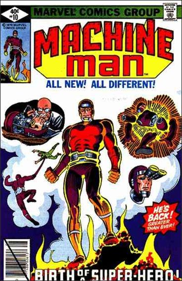 Machine Man (1978) 10-A by Marvel