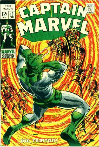 Captain Marvel (1968) 10-A by Marvel