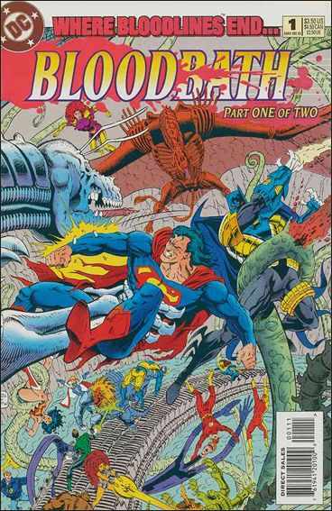 Bloodbath 1-A by DC
