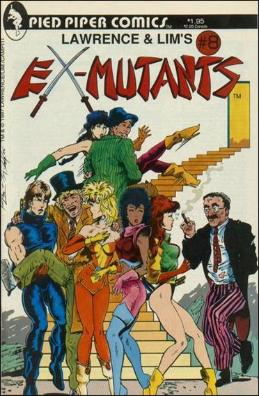 Ex-Mutants (1986) 8-A by Eternity
