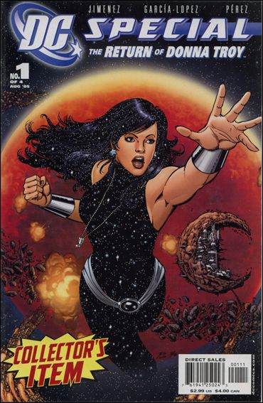 DC Special: The Return of Donna Troy 1-A by DC