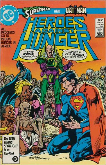 Heroes Against Hunger 1-A by DC