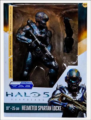 Halo 5 Guardians (Series 2) Helmeted Spartan Locke 10 inch