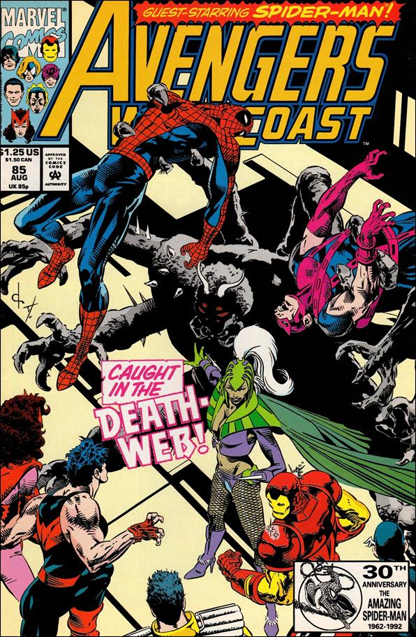 Avengers West Coast 85-A by Marvel