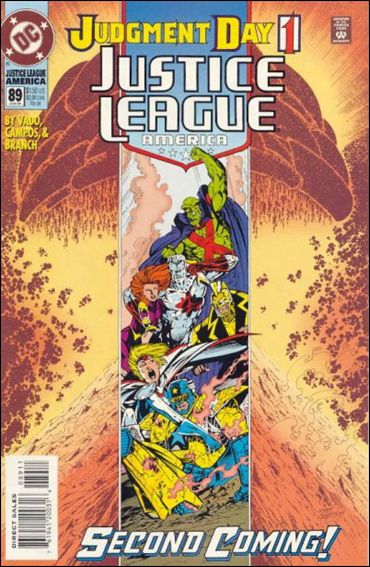 Justice League America 89-A by DC