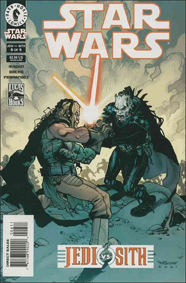 Star Wars: Jedi vs Sith 6-A by Dark Horse