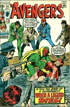 Avengers (1963) 81-A