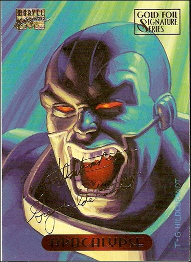 1994 Marvel Masterpieces (Gold-Foil Signature Parallel Base Set) 1-A by Fleer