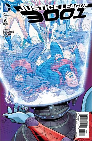 Justice League 3001 6-A