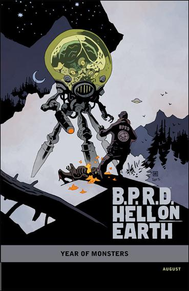 B.P.R.D. Hell on Earth: Return of the Master 1-B by Dark Horse