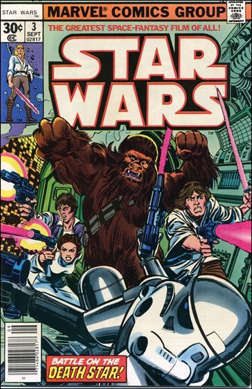 Star Wars (1977) 3-A by Marvel