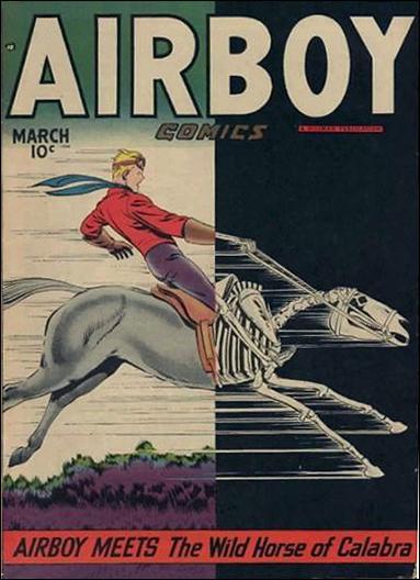 Airboy Comics (1948) 2-A by Hillman