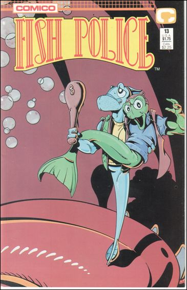Fish Police (1988) 13-A by Comico