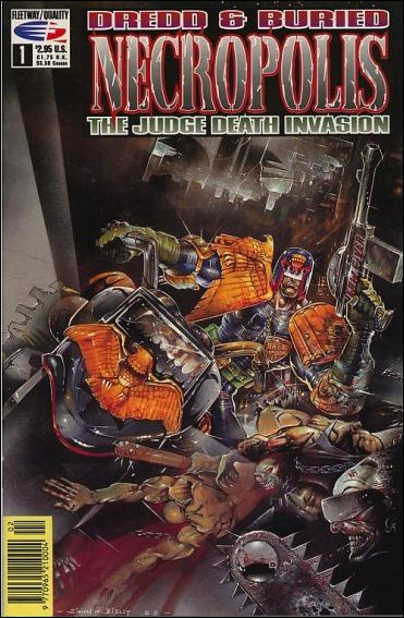 Dredd & Buried: Necropolis 1-A by Fleetway Quality