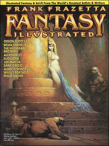 Frank Frazetta Fantasy Illustrated 6-A by Quantum Cat Entertainment