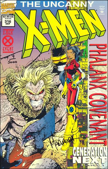 Uncanny X-Men (1981) 316-D by Marvel