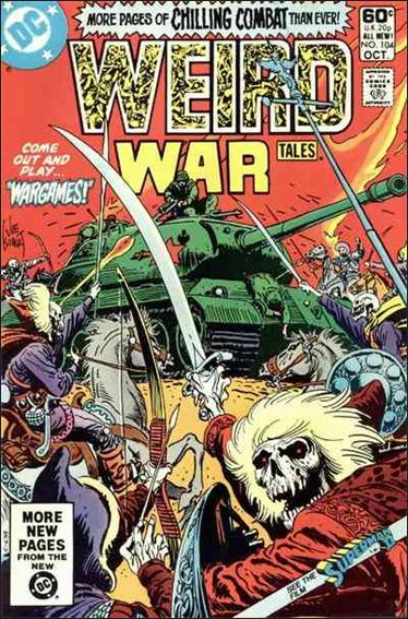 Weird War Tales (1971) 104-A by DC