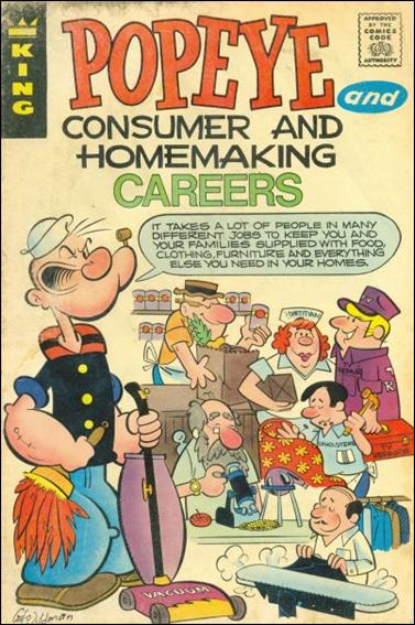 Popeye: King Educational Comics Giveaway 6-A by King
