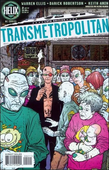 Transmetropolitan 2-A by Vertigo