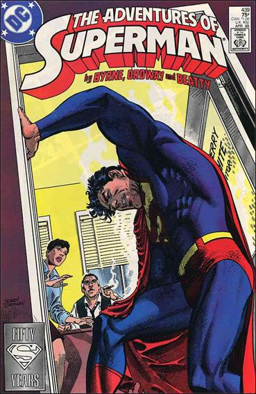 Adventures of Superman (1987) 439-A by DC