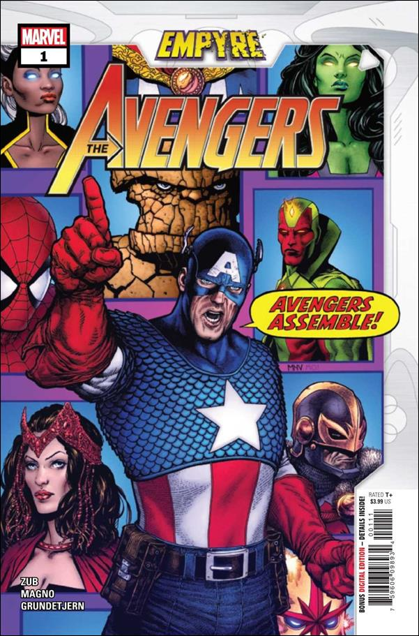 Empyre: Avengers 1-A by Marvel