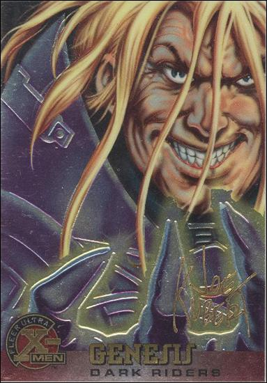 1995 Fleer Ultra X-Men All Chromium (Gold Signature Parallel Base Set) 45-A by Fleer