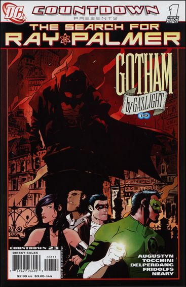 Countdown Presents: The Search for Ray Palmer: Gotham by Gaslight 1-A by DC