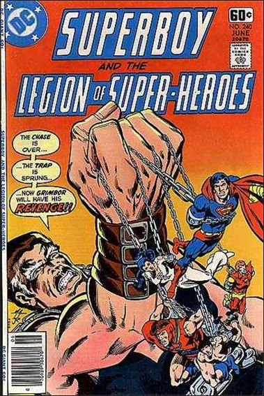 Superboy and the Legion of Super-Heroes 240-A by DC