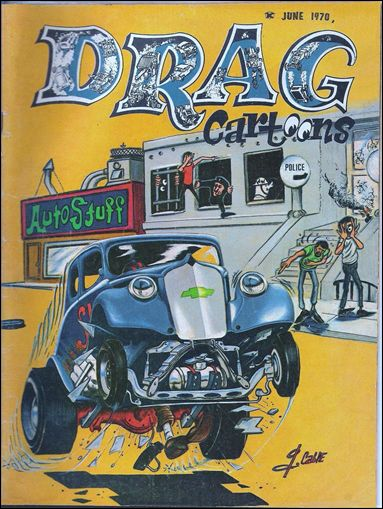 Drag Cartoons (1970) 2-A by Professional Services